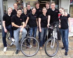 Das Elektrofahrrad-Team e2Rad