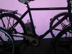 Pedelec auf der E-Bike-Messe